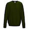 aw0320 forest green sweatshirt