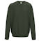 aw0320 olive green sweatshirt
